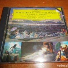 CDs de Música: MUSICA DESDE EL MUSEO DEL PRADO GRANADOS ALBENIZ JOSE MARIA PINZOLAS CD ALBUM 1987 7 TEMAS. Lote 198560848