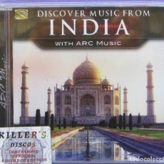 CDs de Música: DISCOVER MUSIC FROM INDIA WITH ARC MUSIC - CD . Lote 136023410