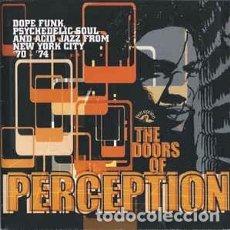CDs de Música: VARIOUS - THE DOORS OF PERCEPTION (CD, COMP) LABEL:SANCTUARY RECORDS, CASTLE MUSIC CAT#: CMRCD 092 . Lote 136023902