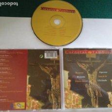 CDs de Música: CD SEMANA SANTA CORNETAS Y TAMBORES MUSICA COFRADE SEVILLA , MACARENA MONTESION .... Lote 136028338