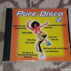 CDs de Música: BONNIE POINTER, IRENE CARA, RICK JAMES, GLORIA GAYNOR, DIANA ROSS, BARRY WHITE, PATRICK JUVET. Lote 136032425