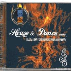CDs de Música: CD'S DISCOTECA BIG-BEN HOUSE & DANCE 2002 LA 4ª RECOPILACIO LLEIDA. Lote 136032478