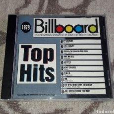 CDs de Música: BILLBOARD, TOP HITS,1979, VILLAGE PEOPLE, GLORIA GAYNOR, THE KNACK, ROBERT JOHN, BLONDIE, ANITA WARD. Lote 136037097