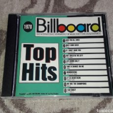 CDs de Música: BILLBOARD, TOP HITS, 1978, EXILE, PLAYER, NICK GILDER, ERIC CLAPTON, ABBA, QUEEN, BONNIE TYLER. Lote 136037312