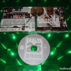 CDs de Música: EXALTASAMBA ( 25 ANOS AO VIVO ) - CD - RAD 4074 - RADAR - CAMINHO SEM AMOR - ACEITA PAIXAO .... Lote 136067502