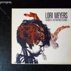 CDs de Música: CD LORI MEYERS - CUADO EL DESTINO MOS ALCANCE. . Lote 136072466