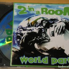 CDs de Música: 2 IN A ROOM, WORLD PARTY, CD. Lote 136079978