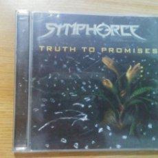 CDs de Música: SYMPHORCE - TRUTH TO PROMISES. Lote 136080333