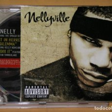 CDs de Música: NELLYVILLE, NELLY CD, HOT IN HERRE, DILEMA, WORK IT CON JUSTIN TIMBERLAKE, ERCOM. Lote 136080370