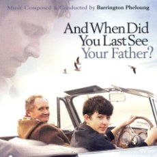 CDs de Música: AND WHEN DID YOU LAST SEE YOUR FATHER / BARRINGTON PHELOUNG CD BSO. Lote 136082270
