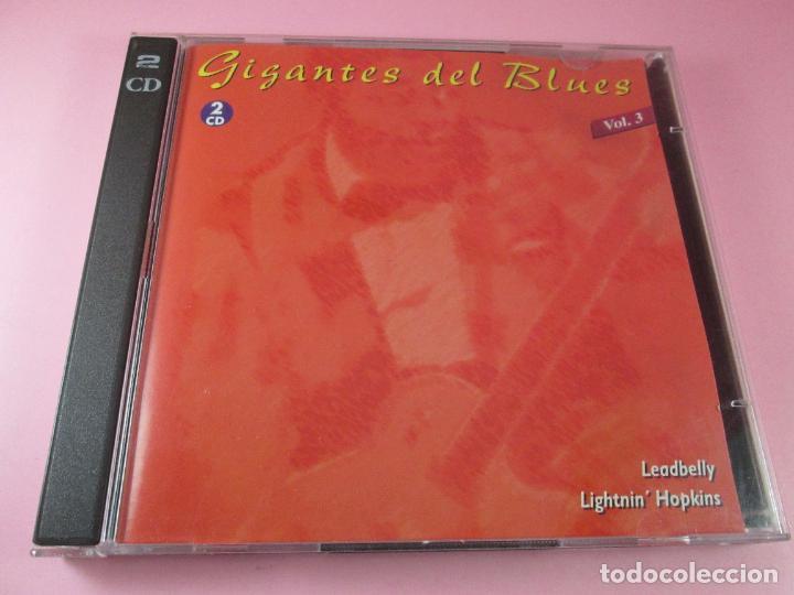 CDs de Música: CD-DOBLE-GIGANTES DEL BLUES-BUEN ESTADO-VER FOTOS - Foto 4 - 136097870