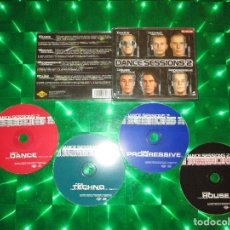 CDs de Música: DANCE SESSIONS 2 - 4 CD - NM1878CDTV - MAX MUSIC - MIKE PLATINAS - PASTIS & BUENRI - JULIO POSADAS . Lote 136112454