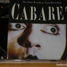 CD de Música: CABARET, THE NEW BROADWAY CAST RECORDING, MUSICAL, CD RCA VICTOR, 1998, BSO, B S O. Lote 136116622