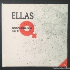 CDs de Música: ELLAS - BENICASSIM POP - 2017 / DISCO LIBRO. Lote 136118726