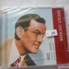 CDs de Música: MUSICA CD: GLENN MILLER MOONLIGHT SERENADE ¡¡PRECINTADO!! (ABLN). Lote 136164714