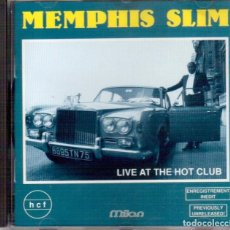 CDs de Música: MEMPHIS SLIM. LIVE AT THE HOT CLUB. CD CH 346. RC 720. MILAN. MADE IN SWITZERLAND. . Lote 136181098