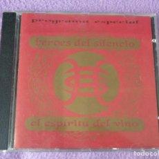 CDs de Música: HEROES DEL SILENCIO - EL ESPIRITU DEL VINO - PROGRAMA ESPECIAL - CD PROMOCIONAL - MUY RARO. Lote 136184518