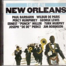 CDs de Música: ATLANTIC JAZZ. NEW ORLEANS. PAUL BARBARIN. WILBUR DE PARIS. PERCY HUMPHREY. GEORGE LEWIS. .... Lote 136184566