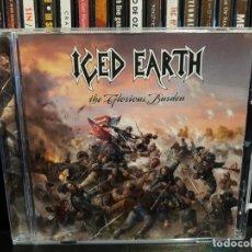 CDs de Música: ICED EARTH - THE GLORIOUS BURDEN. Lote 136204730