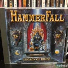CDs de Música: HAMMERFALL - LEGACY OF KINGS. Lote 136204858