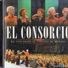 CDs de Música: EL CONSORCIO EN VIVO DESDE EL CORAZÓN DE MÉXICO. Lote 217868295