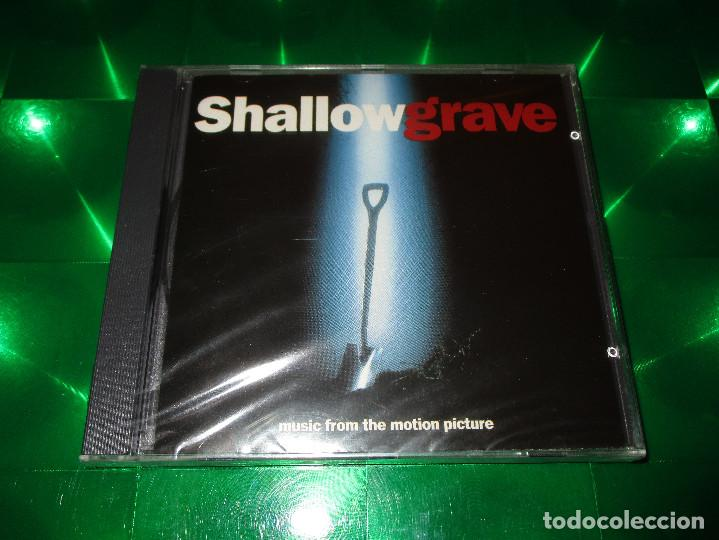 SHALLOW GRAVE ( MUSIC FROM THE MOTION PICTURE ) - CD - 7243 8 32488 2 7 - EMI RECORDS (Música - CD's Bandas Sonoras)