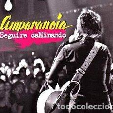 CDs de Música: AMPARANOIA - SEGUIRE CAMINANDO - 2 CDS Y DVD. Lote 136218458