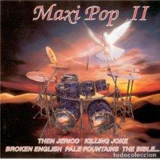 CDs de Música: MAXI POP II (CONTRASEÑA,CON-013CD 2CD, 1995) BUEN ESTADO! PALE FOUNTAINS, DAMNED, RAW HERBS B MOVIE. Lote 136221042