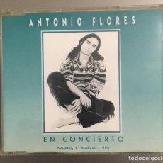 CDs de Música: ANTONIO FLORES EN CONCIERTO. Lote 136257838