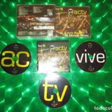 CDs de Música: ACTV ( VIVE ) - 3 CD - CONTRASEÑA RECORDS - SESIONES POR DJ ARTURO ROGER - DJ MANOLO PIRATA. Lote 136293022