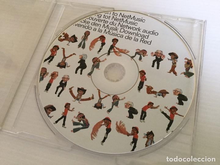 CD Sony promocional – Atrac Walkman - Sin carátula original segunda mano