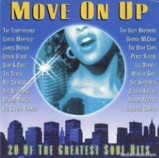 CDs de Música: VARIOUS ARTISTS - 20 SOUL CLASSICS - MOVE ON UP. CD. PRISM LEISURE. Lote 136297898