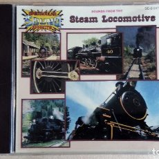 CDs de Música: SOUND FROM THE STEAM LOCOMOTIVE - SPECTACULAR SOUND EFECTS - CD. . Lote 136301206