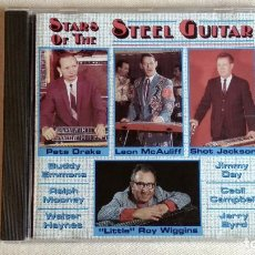 CDs de Música: STARS OF THE STEEL GUITAR - CD. HIGHLAND MUSIC. AÑO 1992 . Lote 136302542
