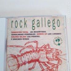 CDs de Música: ROCK GALLEGO ( 1994 DRO ) SINIESTRO TOTAL OS RESENTIDOS GOLPES BAJOS DIPLOMATICOS AEROLINEAS CAFRES . Lote 136306482