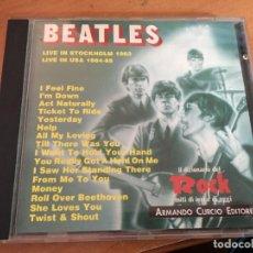 CDs de Música: THE BEATLES LIVE STOCKHOLM & USA (IL DIZIONARIO DEL ROCK) CD 9 CANCIONES (CDI21). Lote 136307322
