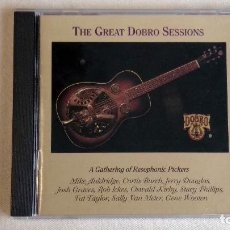 CDs de Música: THE GREAT DOBRO SESSIONS - CD. SUGAR HILL RECORDS. AÑO 1994 . Lote 136313022