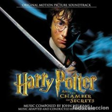 CDs de Música: HARRY POTTER AND THE CHAMBER OF SECRETS / JOHN WILLIAMS CD BSO. Lote 136315982