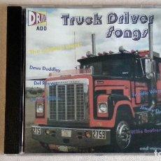 CDs de Música: TRUCK DRIVER SONGS - CD. BAUR MUSIC. AÑO 1998. . Lote 136317318