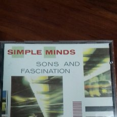 CDs de Música: SIMPLE MINDS. SONS AND FASCINATION. Lote 136378990