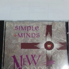 CDs de Música: SIMPLE MINDS. NEW GOLD DREAM. Lote 136379217