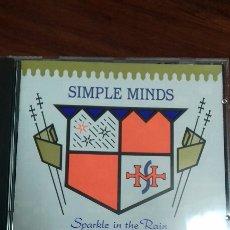 CDs de Música: SIMPLE MINDS. SPARKLE IN THE RAIN. Lote 136379330