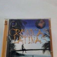 CDs de Música: CRÓNICAS MARCIANAS 2 CDS CRÓNICAS LATINAS. Lote 136385274