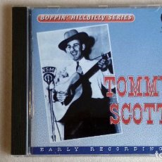 CDs de Música: TOMMY SCOTT - BOPPIN' HILLBILLY SERIES - CD. COLLECTOR RECORDS. . Lote 136386714