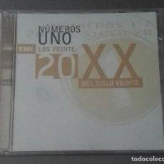 CDs de Música: LOS VEINTE NUMEROS 1 DEL SIGLO 20 ORIGINALES EMI. Lote 136386778