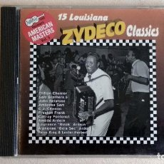 CDs de Música: ZYDECO - 15 LOUISIANA CLASSICS - CD. ARHOOLIE PRODUCTIONS. AÑO 1997. Lote 136390942
