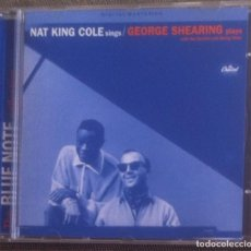 CDs de Música: NAT KING COLE SINGS GEORGE SHEARING PLAYS - CD 1997 THE BLUE NOTE COLLECTION. Lote 136406130