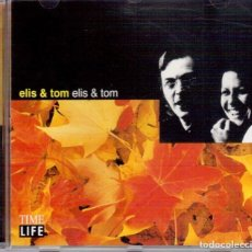 CDs de Música: ELIS & TOM. TIME LIFE. MÚSICAS DO BRASIL. POLYGRAM RECORDINGS. VER FOTOGRAFÍAS.. Lote 136440074