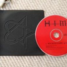 CDs de Música: SINGLE CD - PROMOCIONAL EMISORA DE RADIO - HIM - WICKED GAME CD SINGLE PROMO MUY RARO Y DIFICIL. Lote 136450178