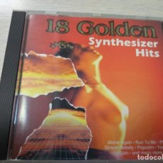 CDs de Música: CD MUSICA 18 GOLDEN SYNTHESIZER HITS. Lote 136451806